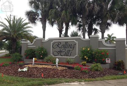 rolling hills neighborhood